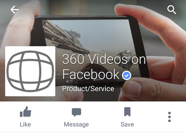Facebook 360 follow